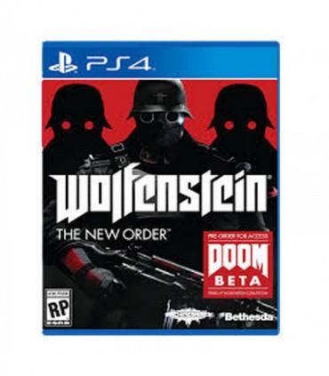 بازی Wolfenstein The New Order کارکرده - پلی استیشن 4