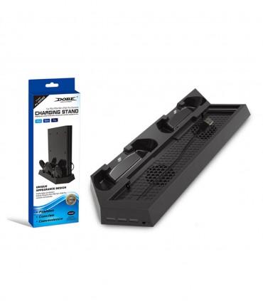 استند شارژر و خنک کننده Dobe برای PS4/PS4 Slim/PS4 Pro