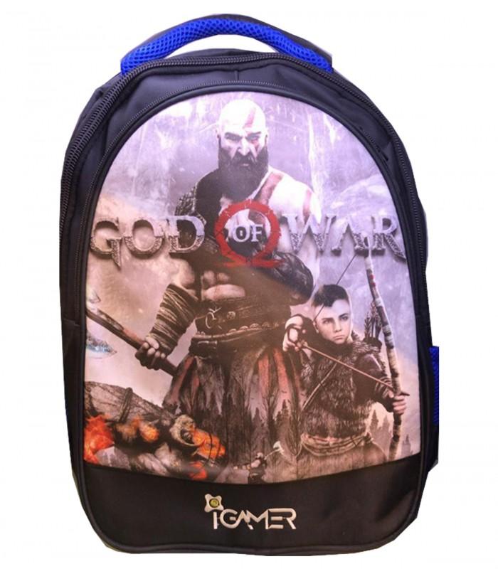 کیف کنسول PS4 آی گیمر مدل کوله پشتی طرح God Of War