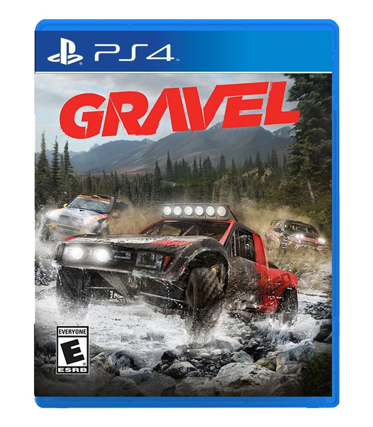 بازی Gravel کارکرده - پلی استیشن 4