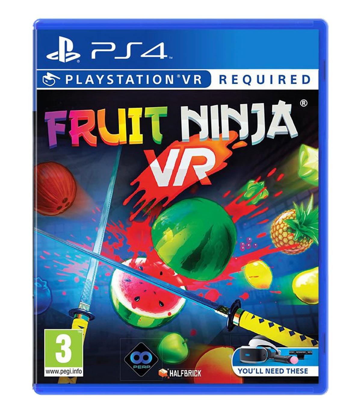 بازی Fruit Ninja - پلی استیشن VR