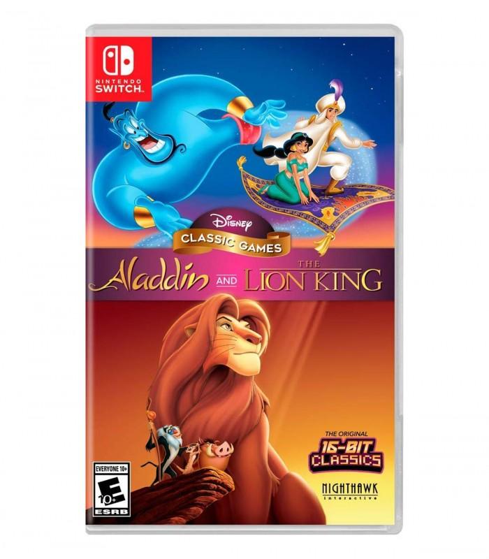 بازی Disney Classic Games: Aladdin and The Lion King - نینتندو