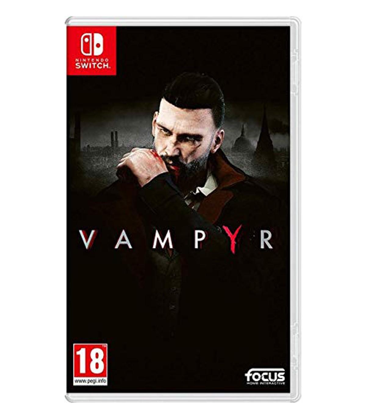 بازی Vampyr - نینتندو سوئیچ