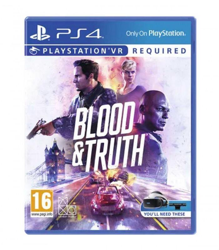 بازی Blood And Truth کارکرده - پلی استیشن VR