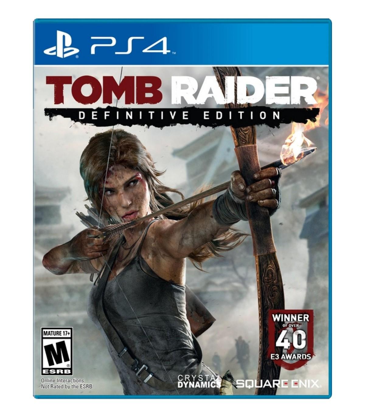 بازی Tomb Raider Definitive Edition کارکرده - پلی استیشن 4