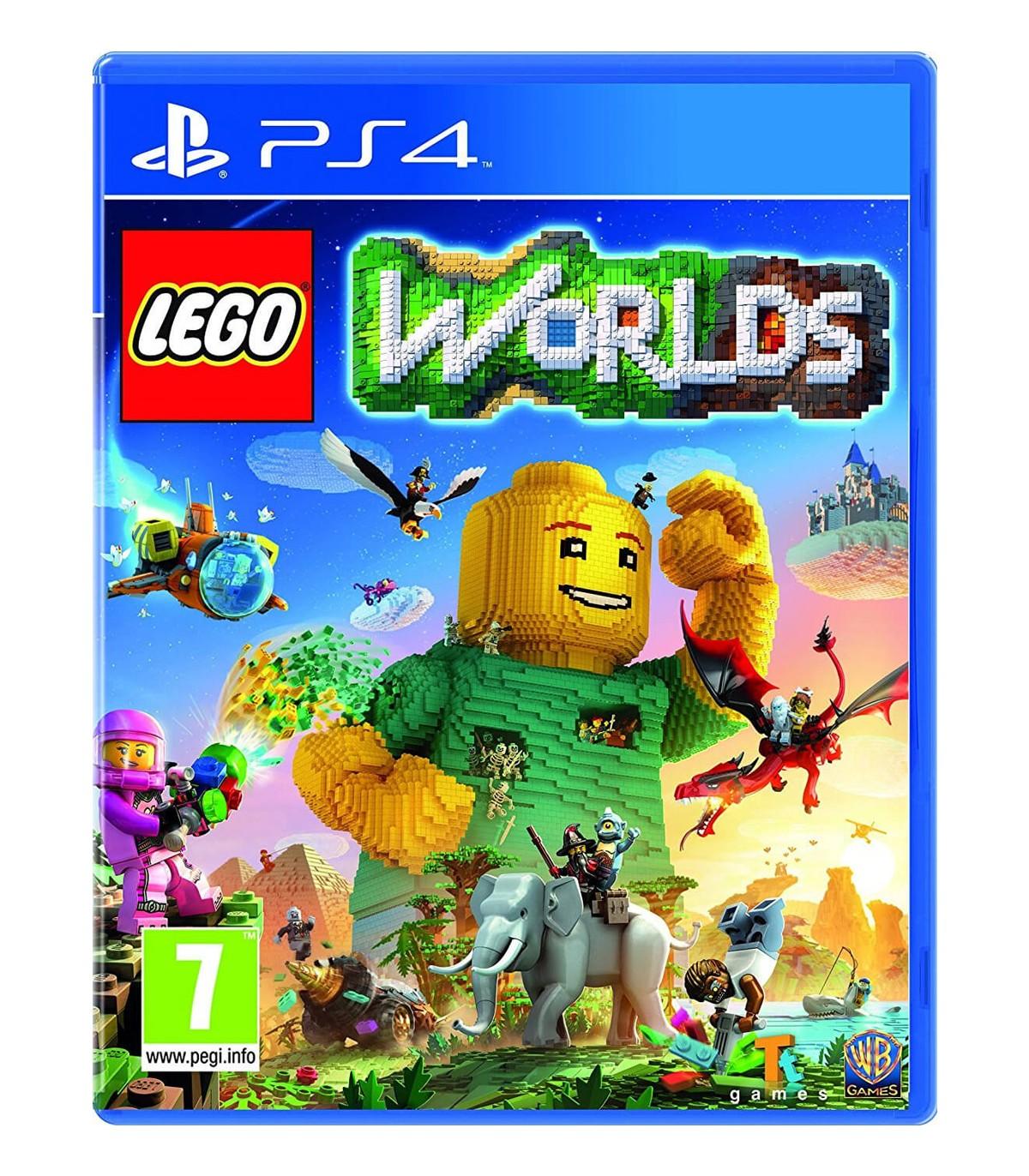 بازی Lego Worlds کارکرده - پلی استیشن 4