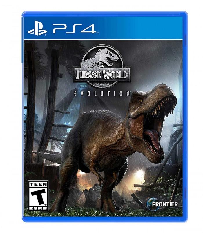 بازی Jurassic World Evolution کارکرده - پلی استیشن 4
