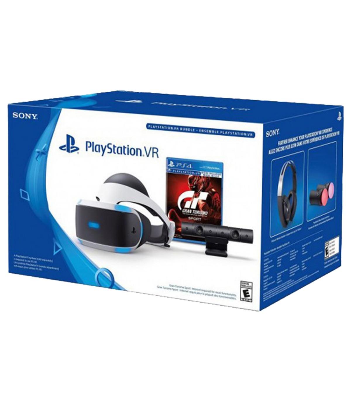 پلی استیشن وی آر باندل گرن توریسمو  PlayStation VR GranTurismo Sport Bundle