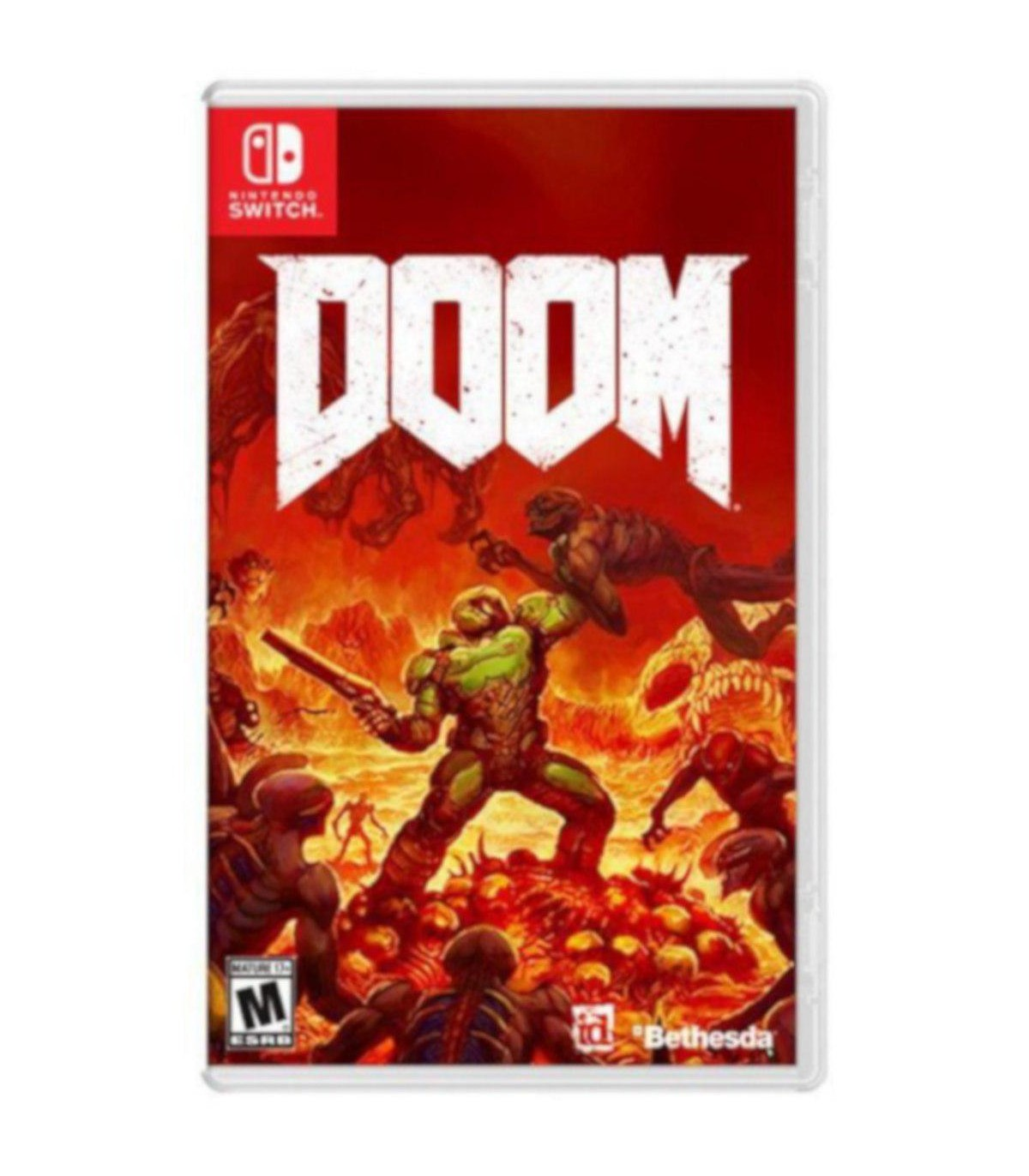 بازی Doom - نینتندو سوئیچ