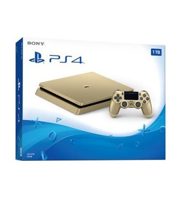 Playstation 4 Slim Gold Region 1- 1 TB