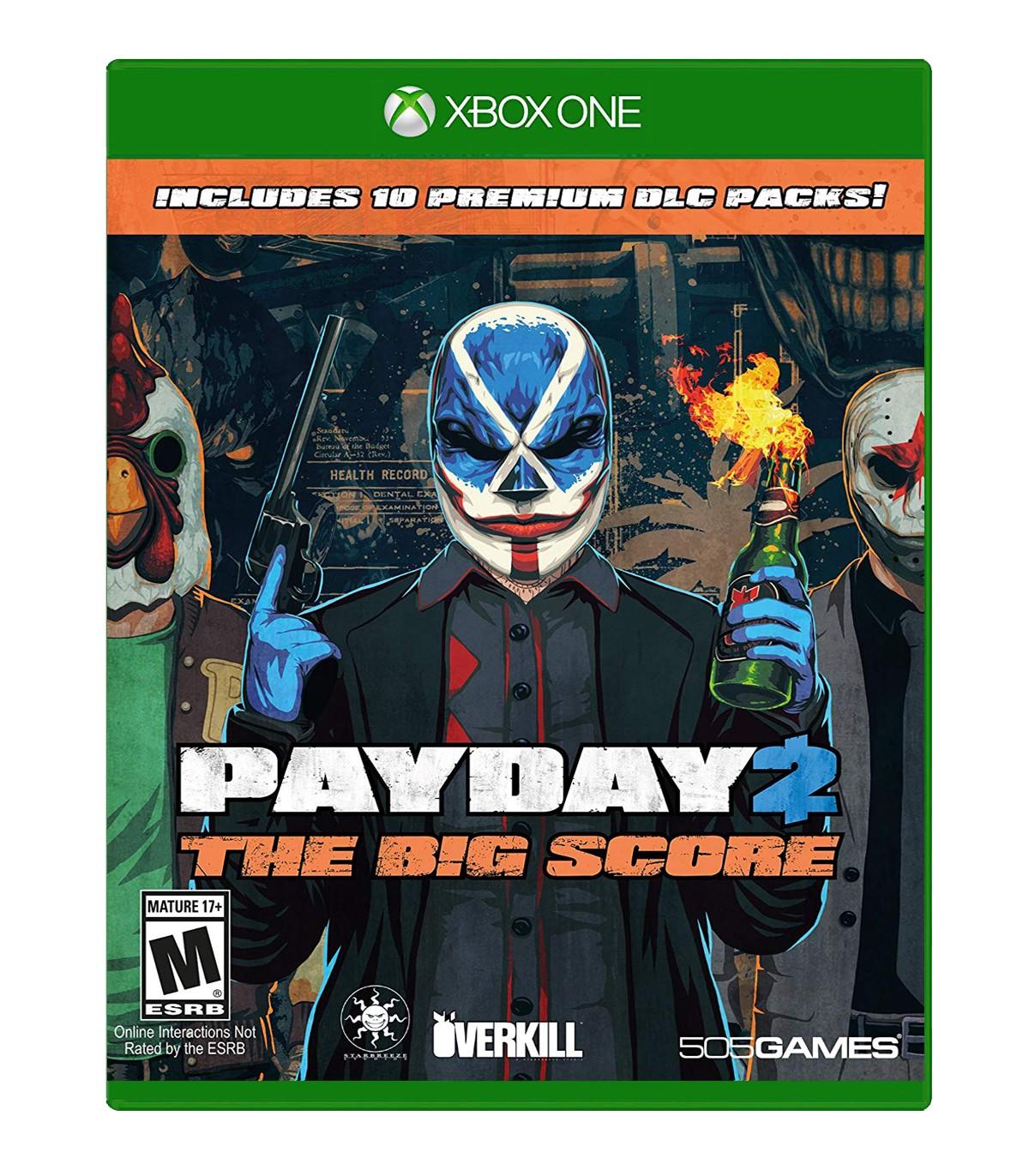بازی PayDay 2 The Big Score کارکرده - ایکس باکس وان