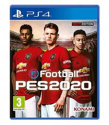 بازی eFootball PES 2020 نسخه منچستریونایتد - پلی استیشن 4