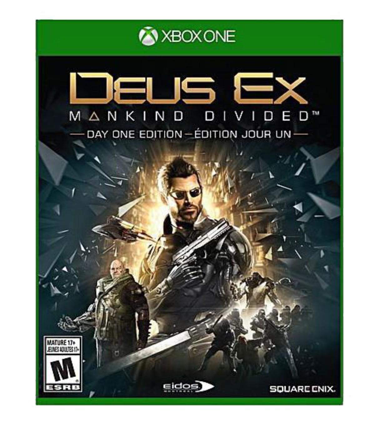 بازی Deus Ex : Mankind Divided کارکرده - ایکس باکس وان
