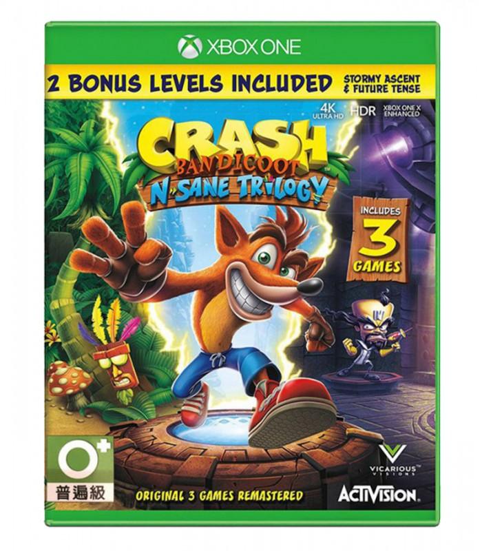 بازی Crash Bandicoot N. Sane Trilogy - ایکس باکس وان