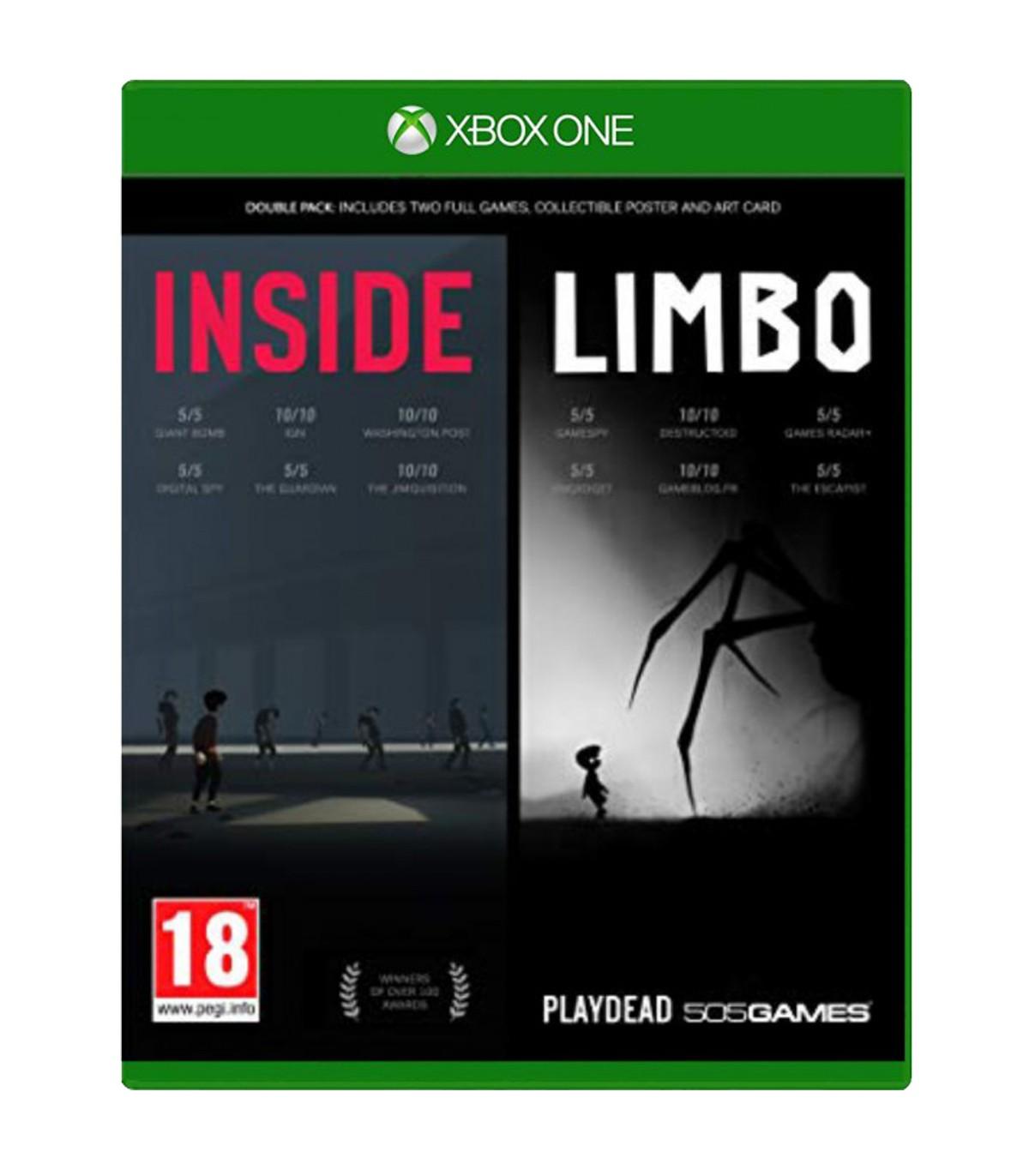 بازی INSIDE / LIMBO Double Pack کارکرده - ایکس باکس وان