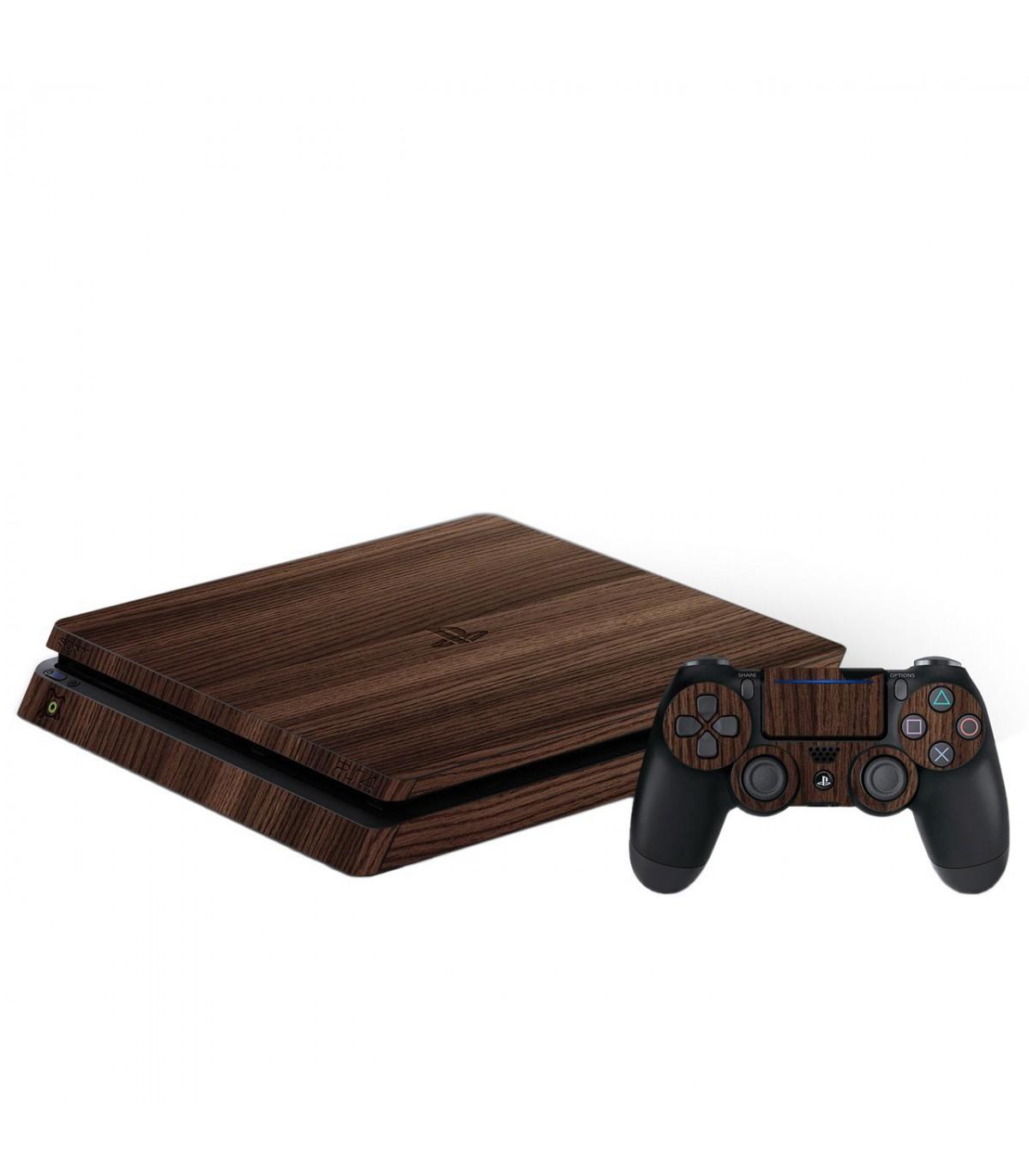 اسکین PS4 اسلیم طرح Wood