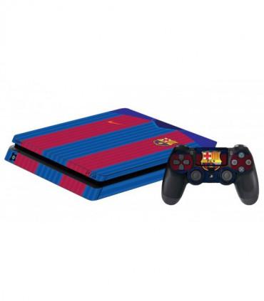 اسکین PS4 اسلیم طرح Barca