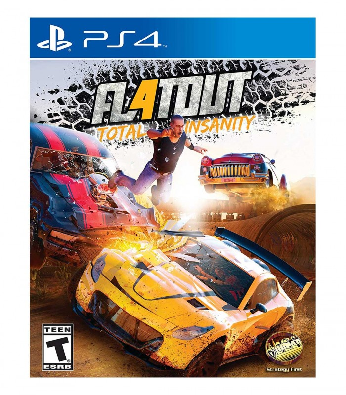بازی FlatOut 4: Total Insanity کارکرده - پلی استیشن 4