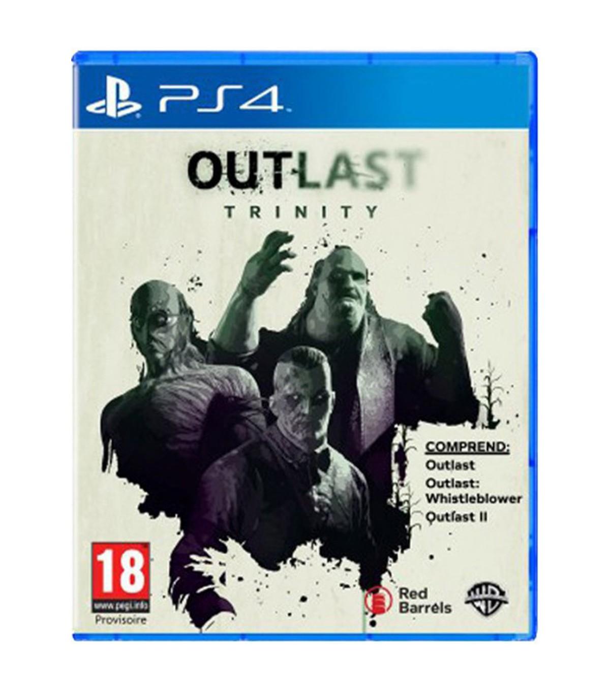 بازی Outlast Trinity کارکرده - پلی استیشن 4