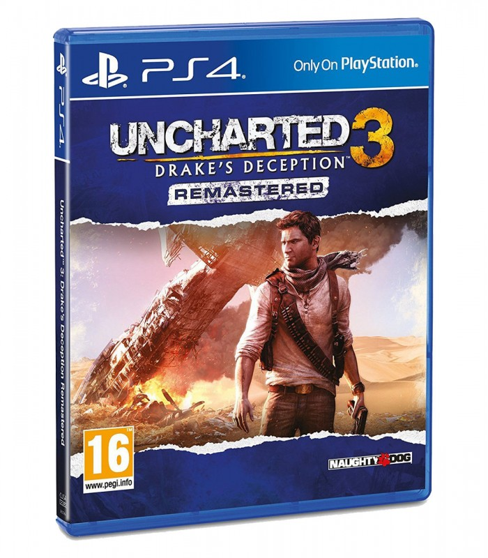 بازی Uncharted 3: Drakes Deception Remastered کارکرده - پلی