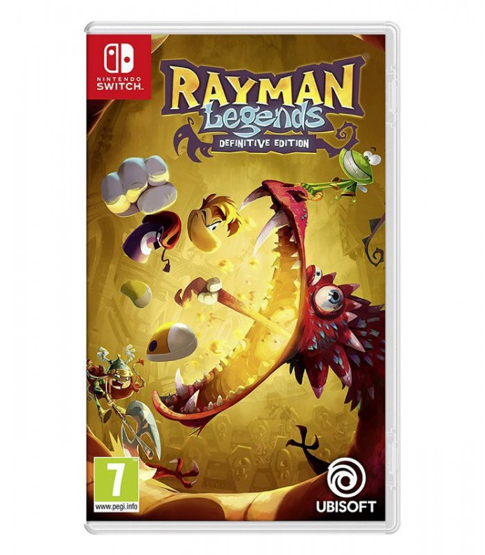 بازی Rayman Legends: Definitive Edition کارکرده - نینتندو سوئیچ