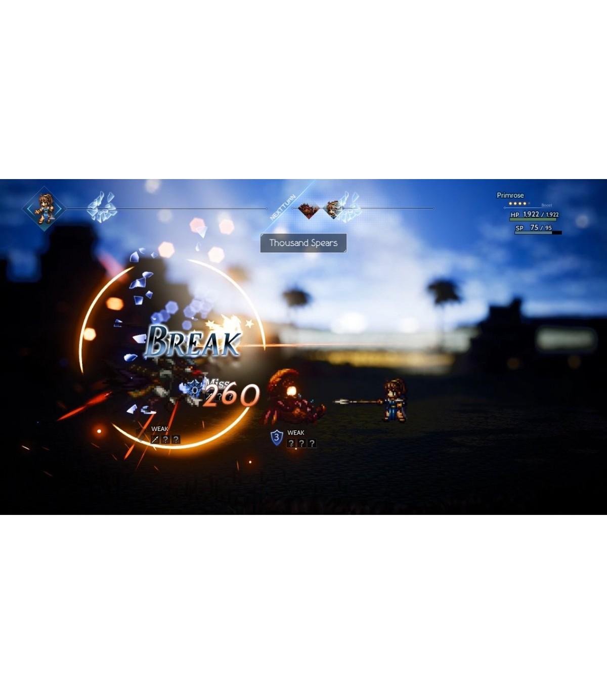 بازی Octopath Traveler - نینتندو سوئيچ