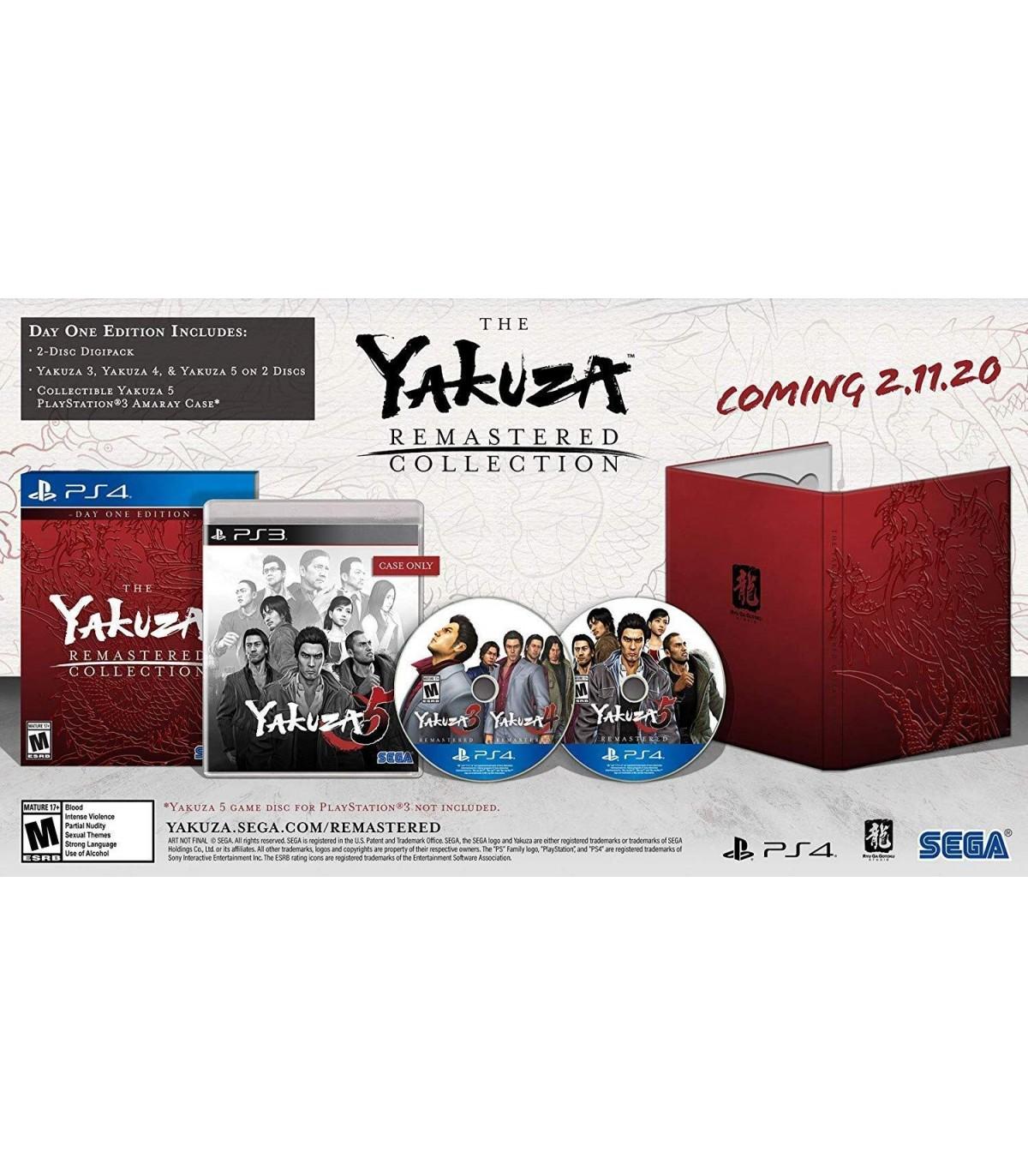 بازی The Yakuza Remastered Collection - پلی استیشن 4