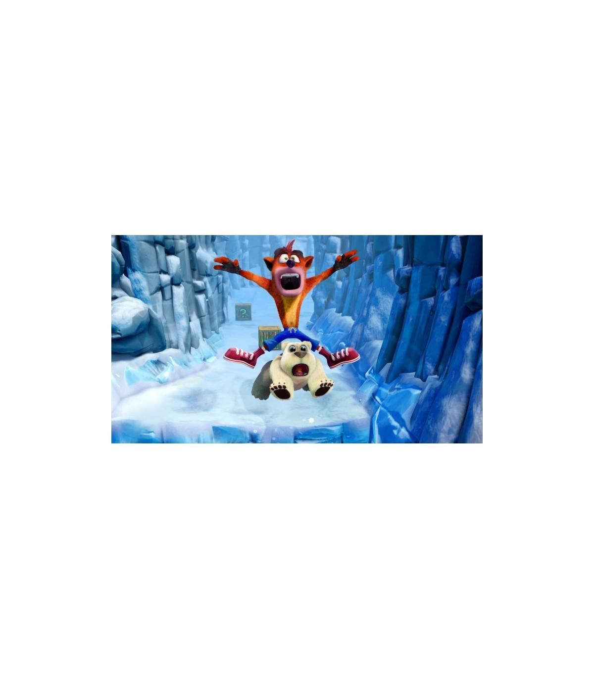 بازی Crash Team Racing Nitro-Fueled و Crash Bandicoot N.Sane