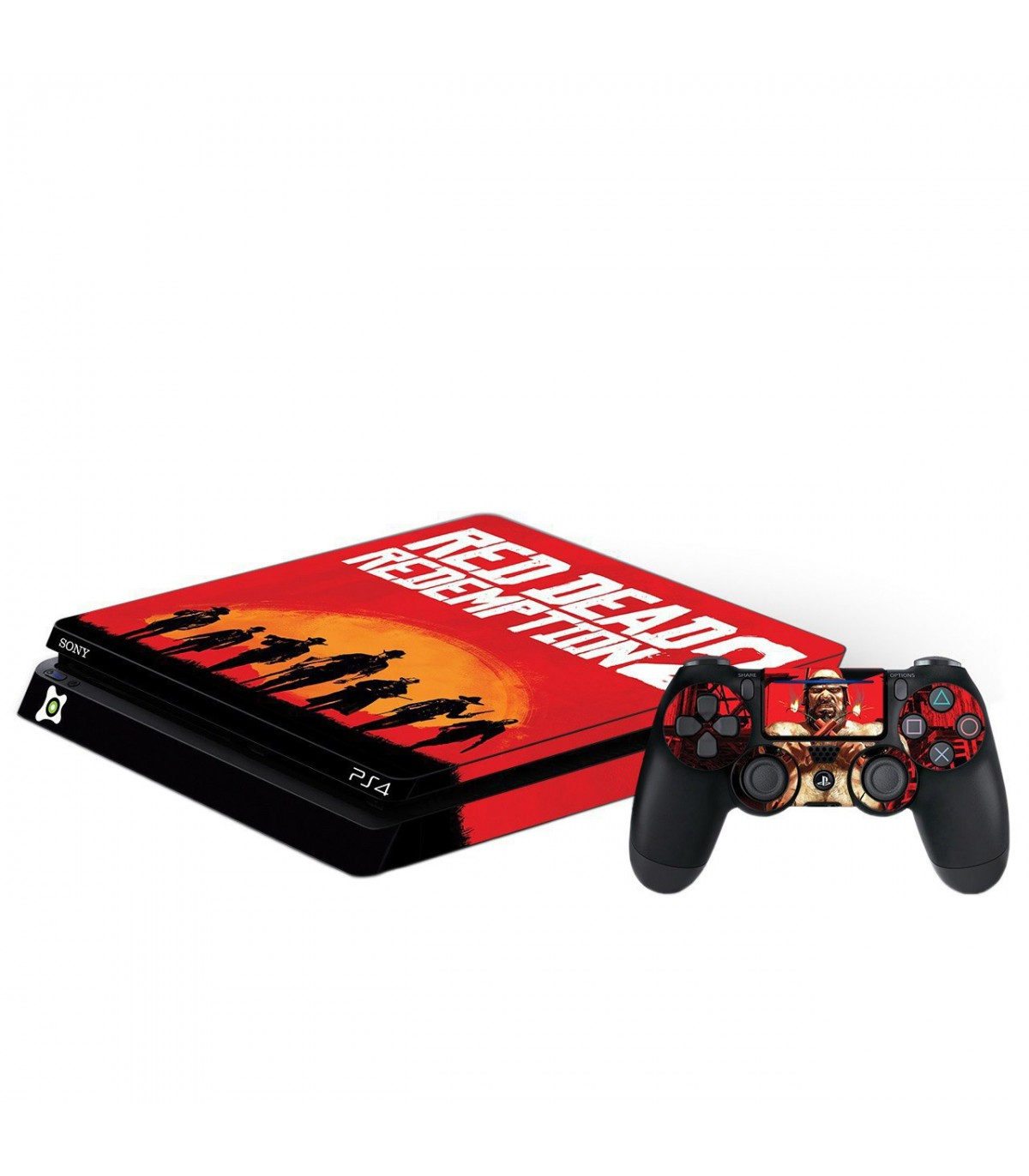اسکین PS4 اسلیم طرح Red Dead 2