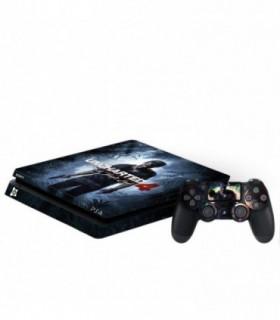 اسکین PS4 اسلیم طرح Uncharted 4
