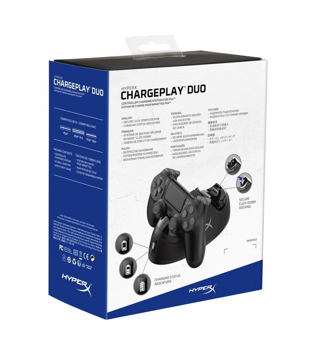شارژر دوتایی دسته پلی استیشن 4 مدل HyperX Charging Station برای