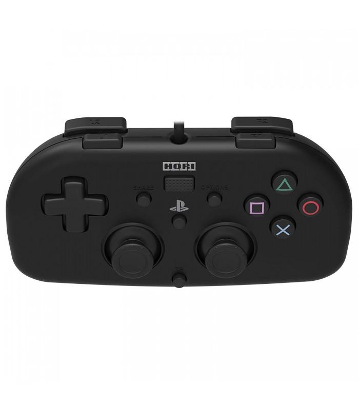 دسته بازی سیم دار PS4 Mini HORI - مشکی/قرمز