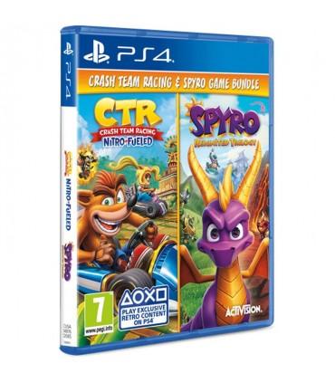 بازی Crash Team Racing Nitro-Fueled و Spyro Reignited Trilogy - پلی استیشن 4