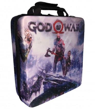 کیف حمل ضد ضربه برای پلی استیشن 4 طرح God Of War - 1