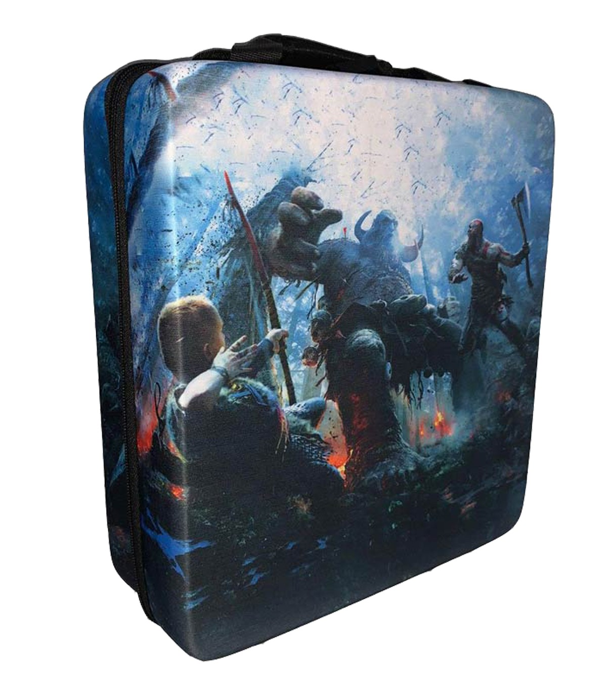 کیف حمل ضد ضربه برای پلی استیشن 4 طرح God Of War - 2
