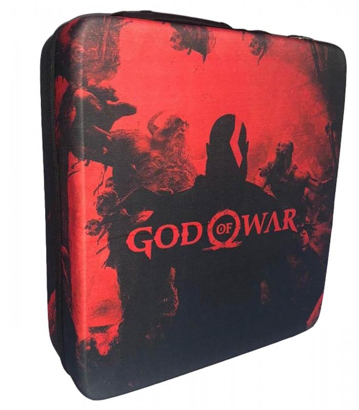 کیف حمل ضد ضربه برای پلی استیشن 4 طرح God Of War - 3