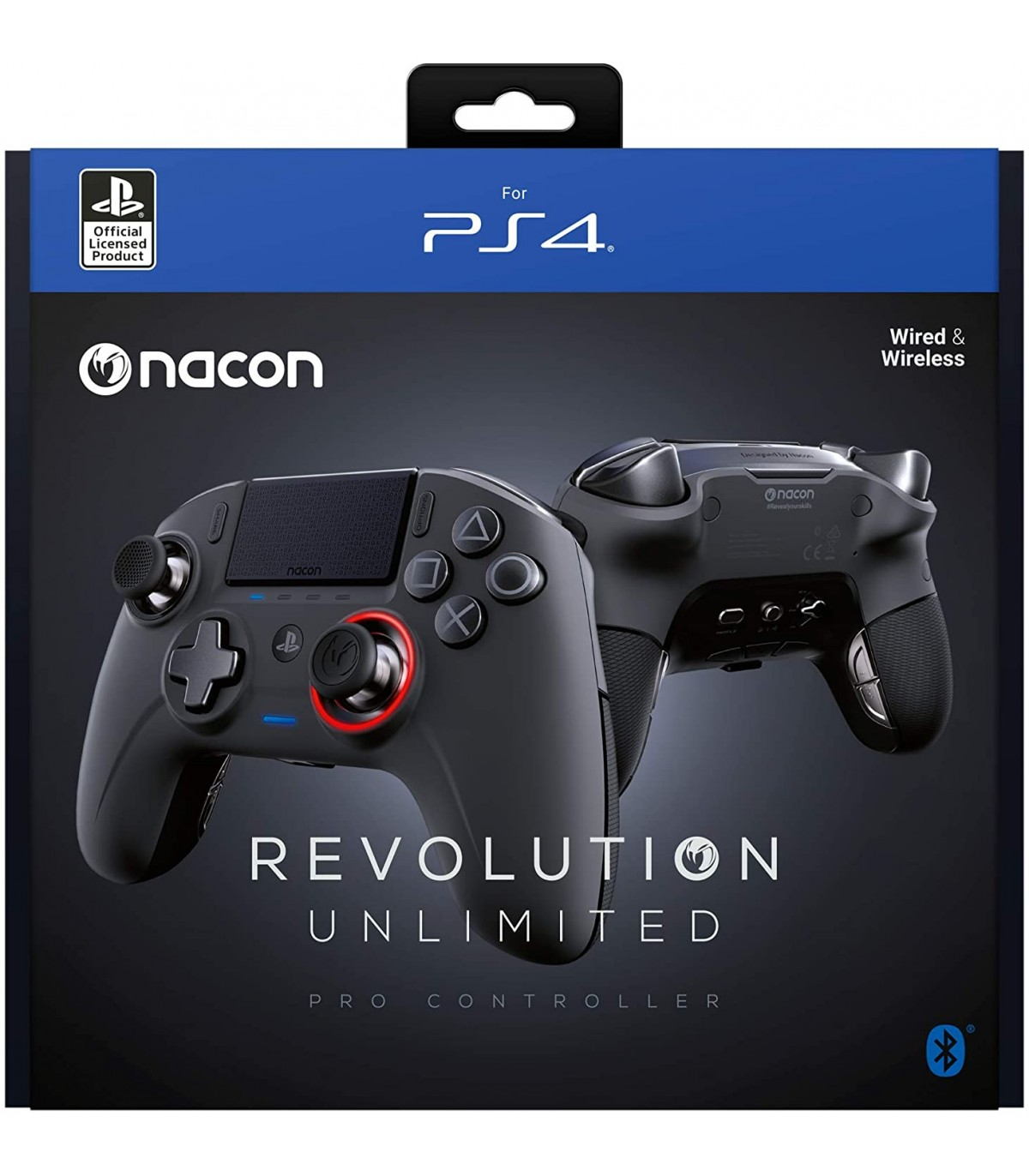 دسته بازی NACON Revolution Unlimited Pro مشکی - PS4 و PC