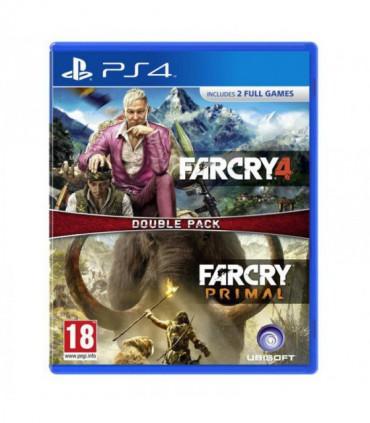 بازی Far cry 4 + Far cry Primal کارکرده - پلی استیشن 4