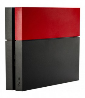 Red PS4 Faceplate