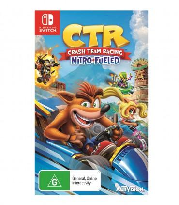 بازی Crash Team Racing Nitro-Fueled کارکرده - نینتندو سوئیچ
