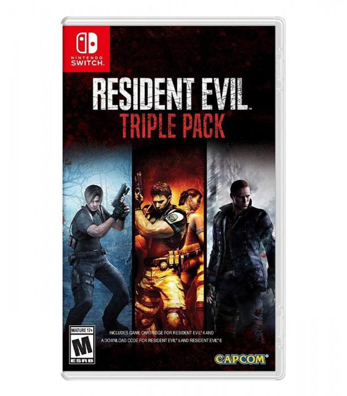 بازی Resident Evil Triple Pack کارکرده - نینتندو سوئیچ