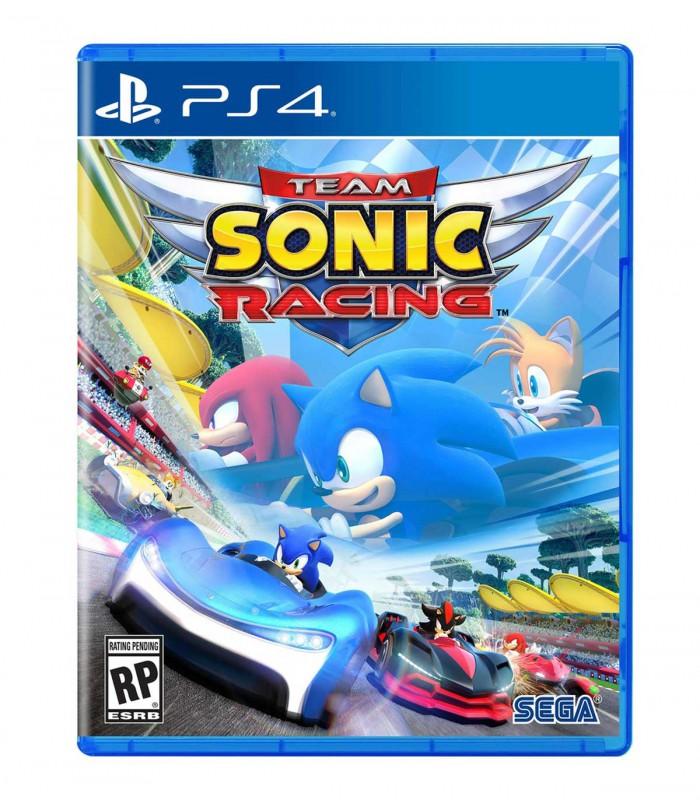 بازی Team Sonic Racing کارکرده - پلی استیشن 4
