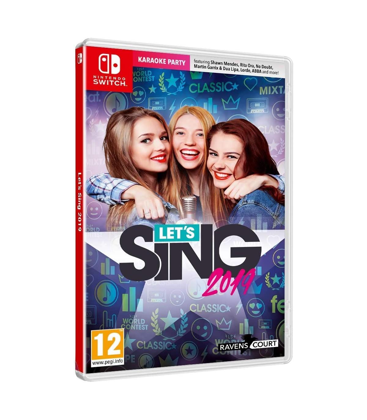 بازی Let's Sing 2019 + Microphone کارکرده - نینتندو سوئیچ