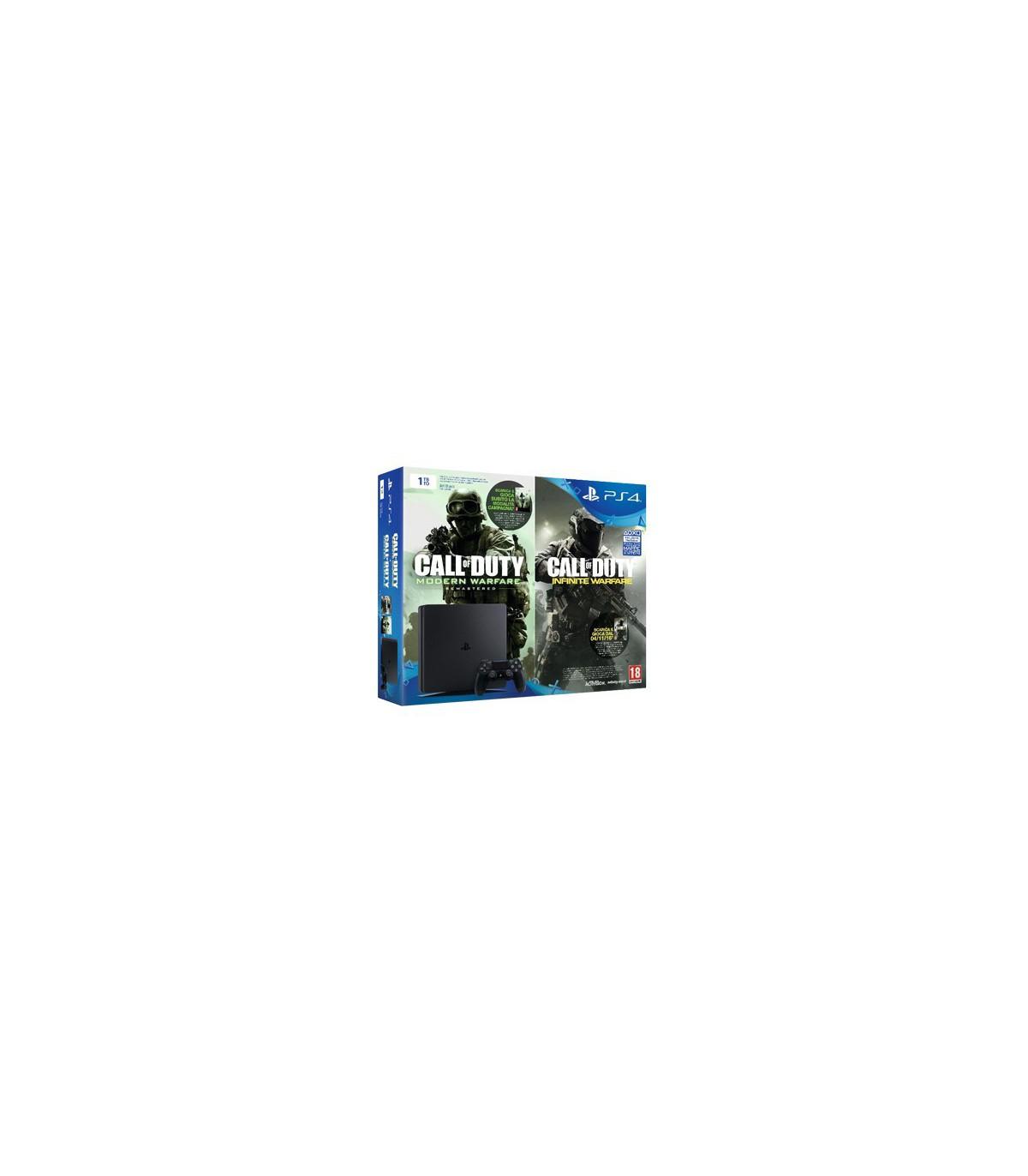Playstation 4 Slim Region 2 -1TB به همراه کد دانلودی کالاف اینفینیت
