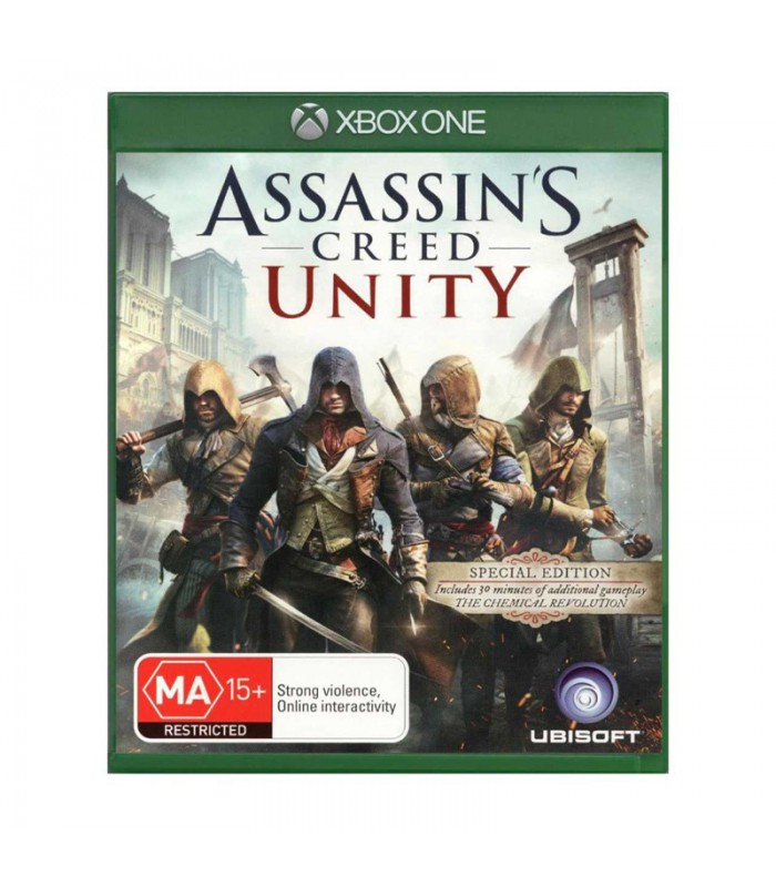 بازی Assassin's Creed Unity کارکرده