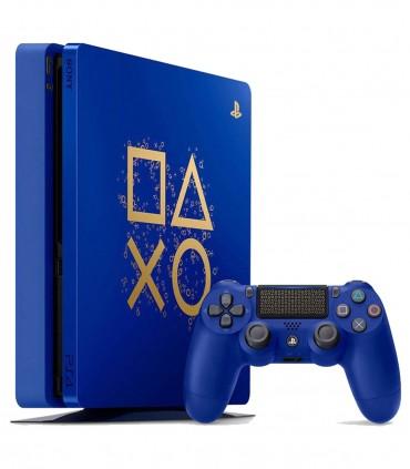 کنسول بازی اسلیم لیمیتد ادیشن PlayStation 4 Slim Days of Play Limited Edition - ظرفیت 1 ترابایت
