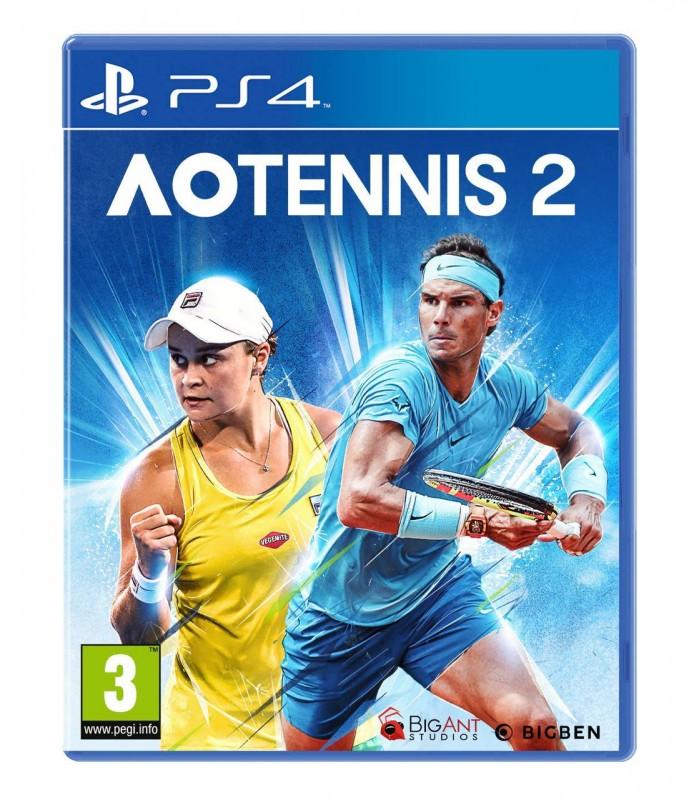 بازی AO Tennis 2 کارکرده - پلی استیشن 4