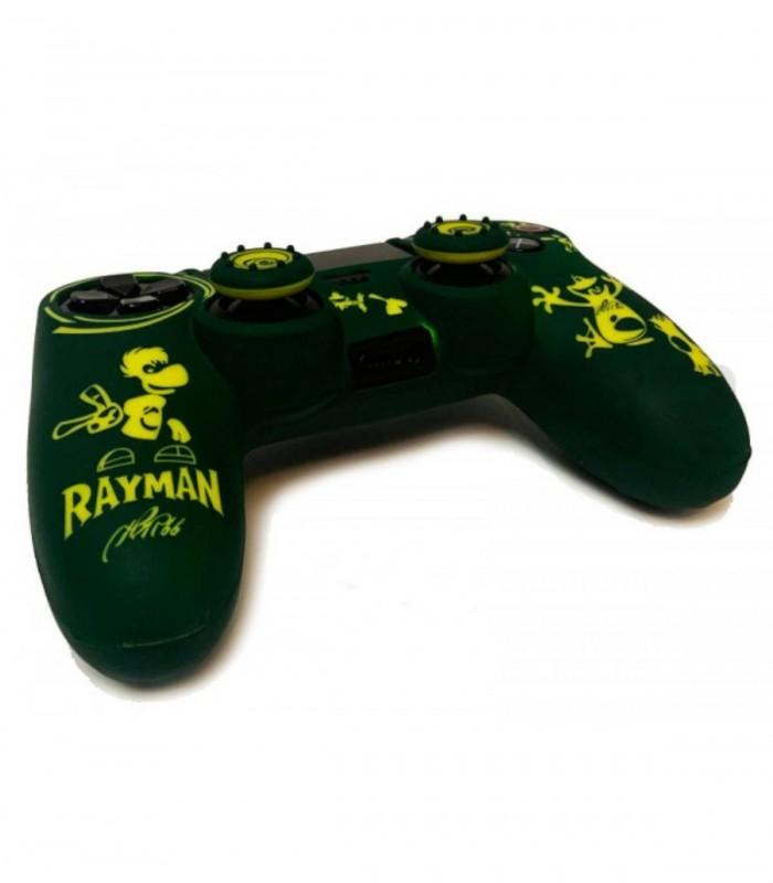 روکش دسته پلی استیشن 4 مدل Rayman همراه با ۲ عدد محافظ آنالوگ