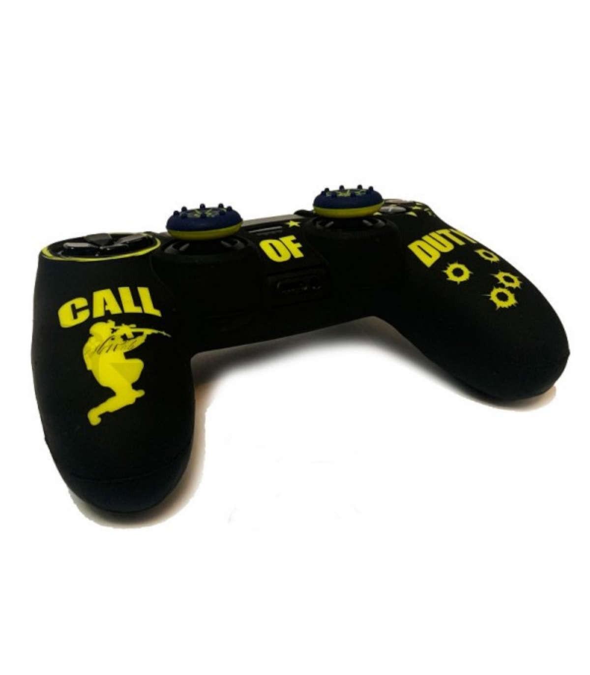 روکش دسته پلی استیشن 4 مدل Call Of Duty همراه با ۲ عدد محافظ