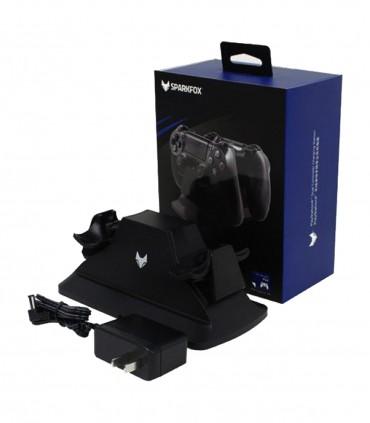 پایه شارژر دوگانه دسته Sparkfox PS4 Dual Controller Charging Station
